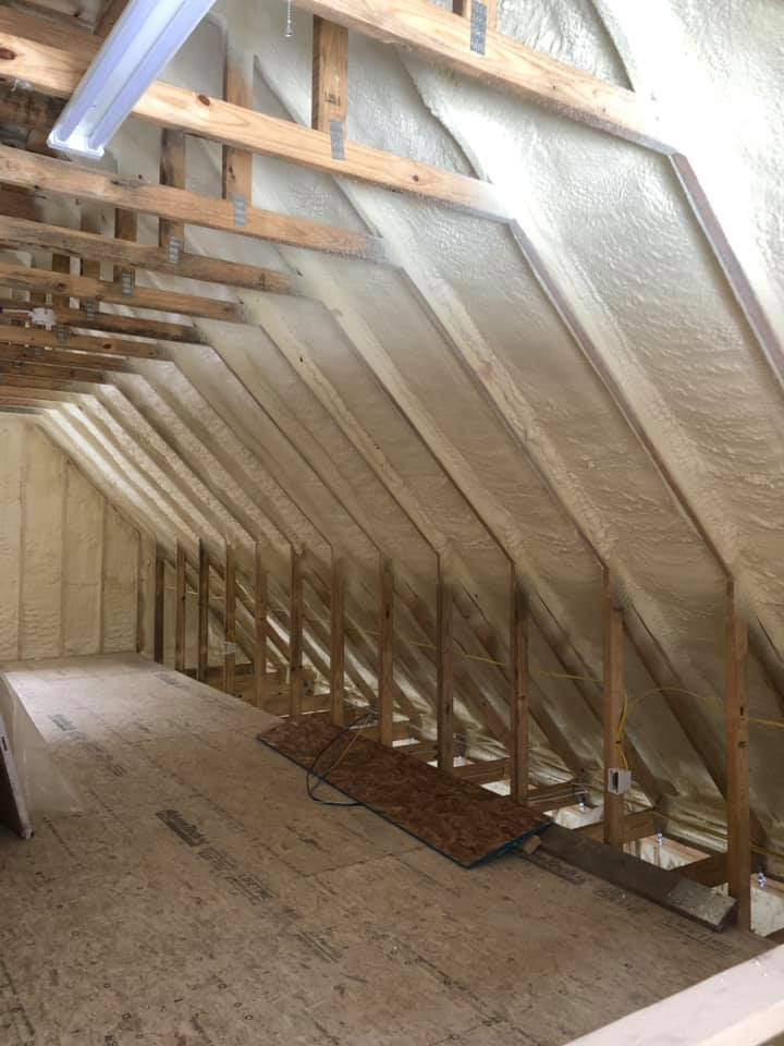 Attic Spray Foam Insulation Nashville