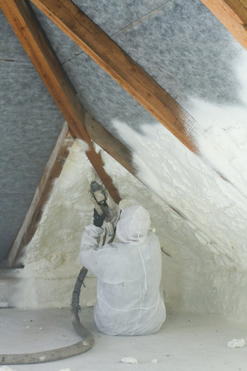 Installation Spray Foam Insulation Nashville