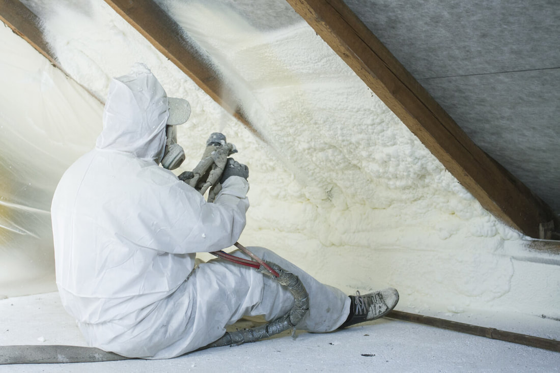 Installing Spray Foam Insulation Nashville