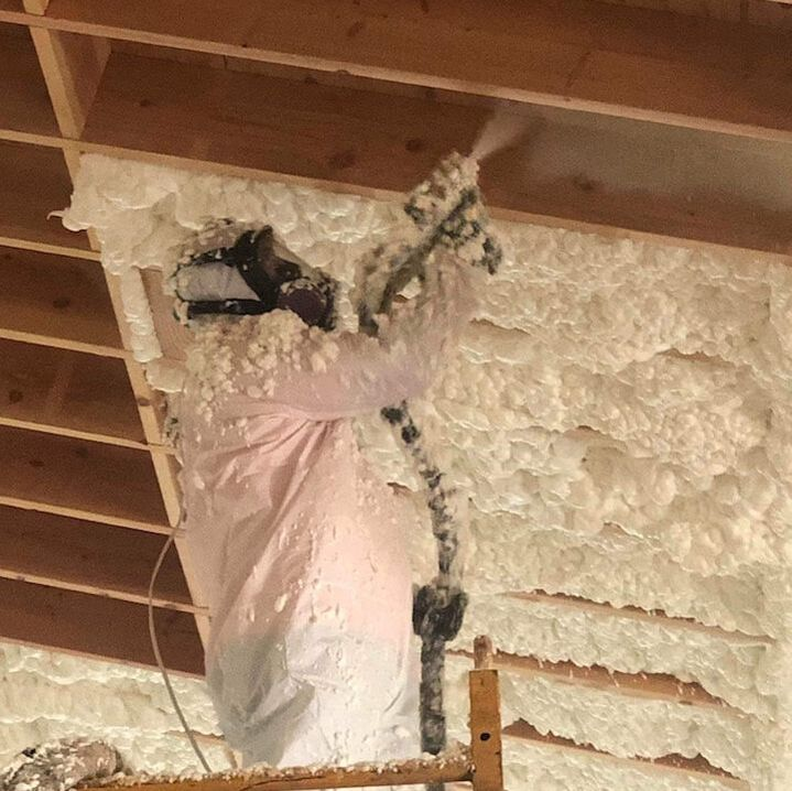 Installing Open-cell Spray Foam Insulation Nashville