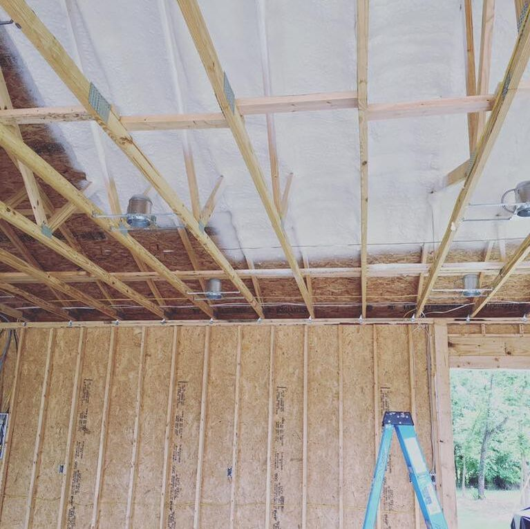 Open-cell Spray Foam Insulation Nashville